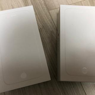 iPhone6 箱2つセット ※本体ではありません、箱のみです