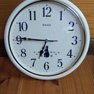 【お譲り先決定】ウサギの掛け時計