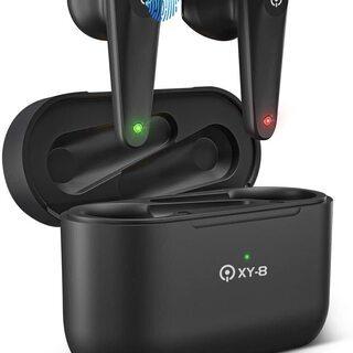 Bluetooth イヤホン 完全ワイヤレスイヤホン 自動…