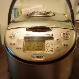 【TIGER 炊きたて】炊飯器