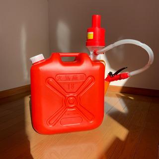 灯油缶18リットル・ポリカンポンプ付