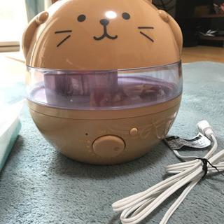 加湿器 猫型