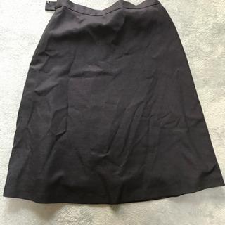 the suits company 黒スカート