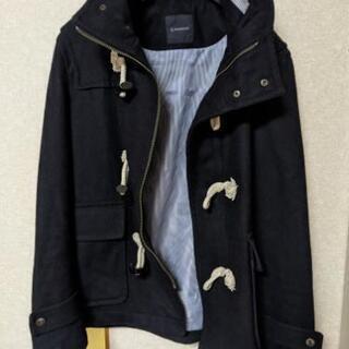 【ネット決済・配送可】今の季節に!紺色のコート(ネット決済じゃな...