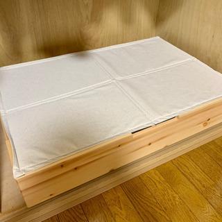 無印良品 ベッド下収納ボックス+ふた【3セット】