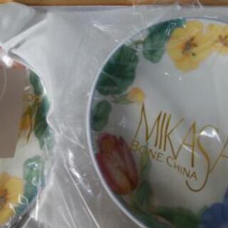 新品 MIKASA  お皿4枚セット