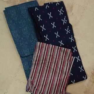 単衣、浴衣、小紋、羽織セット リメイク