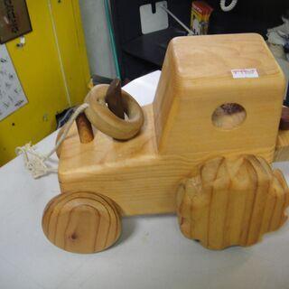 木製 車 積木 知育 玩具 台車 - 札幌市