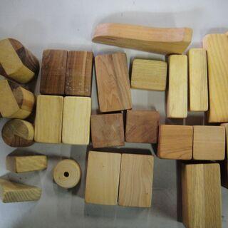 木製 車 積木 知育 玩具 台車 − 北海道