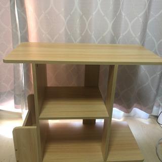 サイドテーブル(ミニ本棚でも)0円