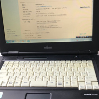 【ネット決済】ノートパソコン富士通C6250