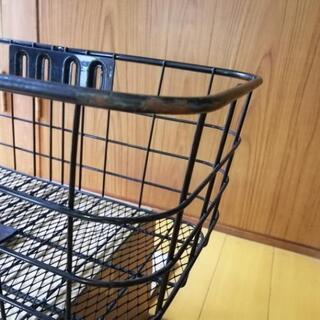 【⠀値下げしました】自転車 大きめの前カゴ − 滋賀県