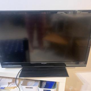 シャープ テレビ lc32h7 ジャンク品 0円の画像