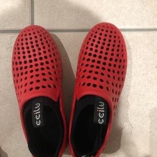 こども 靴 赤