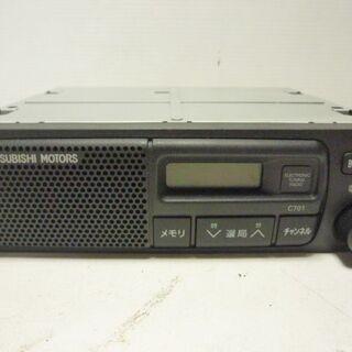 ミツビシ ラジオ MR337264 動作未確認 部品取り