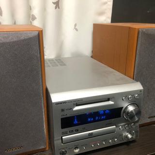 fr-7gxdv DVD/CD/MD再生 コンポ