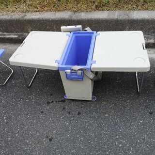 クーラーボックス&テーブル