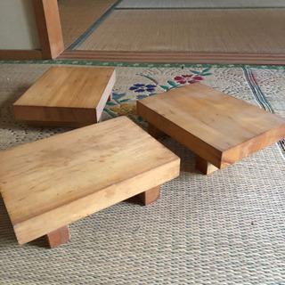 【取引中】お寿司台 板前 寿司皿
