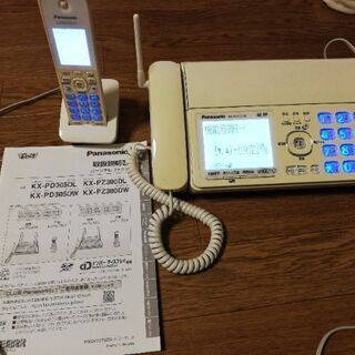 パナソニック 電話 ファックス 子機