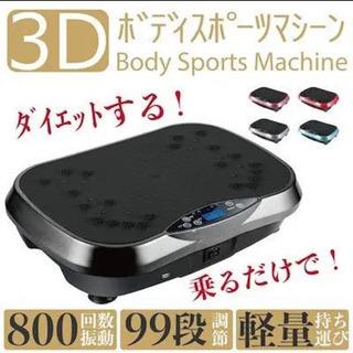 【ネット決済・配送可】3Dボディスポーツマシン