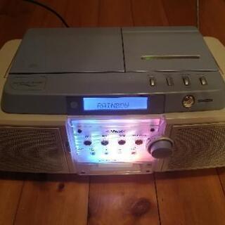 Victor CDMDカセットテーププレイヤー