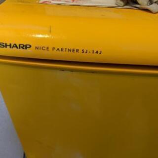 シャープ  SJ-14J-H 冷蔵庫 140L 両開き中古
