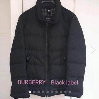 BURBERRY ブラックレーベル ダウンジャケット