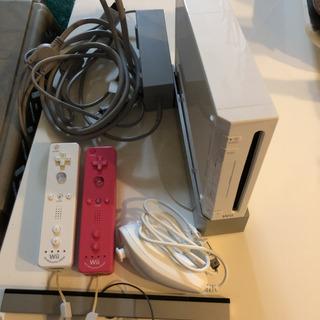 任天堂 Wii 本体と周辺機器一式+ピンクのリモコン