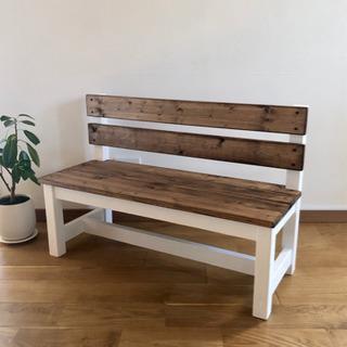かわいい子供用ベンチ