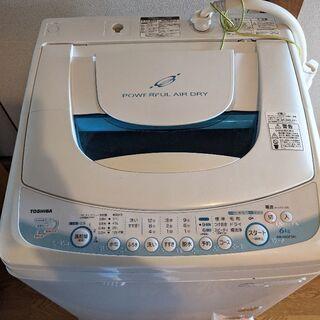 値下げ!!洗濯機 東芝 AW-60  2009年購入