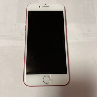 iPhone 7 Red 128 GB au