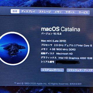 Mac mini 2012 単体