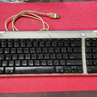 初期iMacのUS版キーボード(ジャンクです)