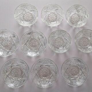 【各5枚10枚セット】 ガラス プレート ボウル 器