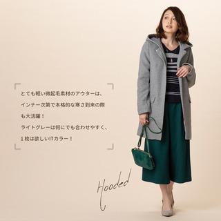 ギャローリア■ライトグレーのコート Sサイズ