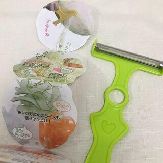 美品◆千切りキャベツ ピーラー 野菜 皮むき スライサー キッチ...