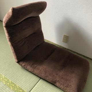 座椅子 10段階程度調整可能
