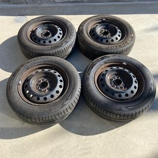 ダンロップタイヤ195-65-15 4本セット