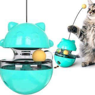 【新品・未使用】猫おもちゃ おやつボール 餌やり玩具