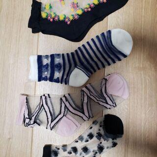 オーバーパンツ(S~M)、靴下、短めタイツ、子ども短めタイツお譲り先が決まりました。 - 服/ファッション