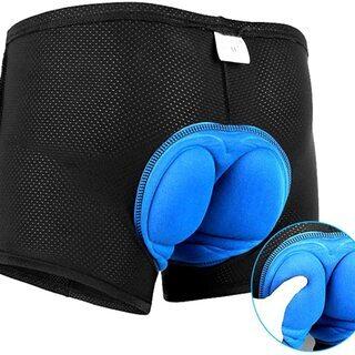 【新品・未使用】サイクリングパンツ(クッション付き)XLサイズ