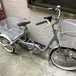 三輪自転車 SWING CHARLIE  高齢 荷カゴ 鍵 変速...