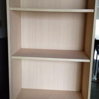 収納ラック(子供用 木製) - 家具
