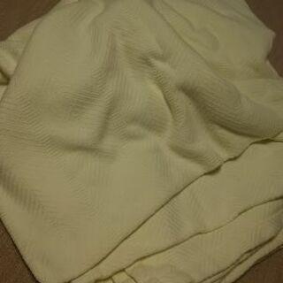 上質レモンクリーム色クイーンサイズ(キングサイズ)ベッドカバー ...