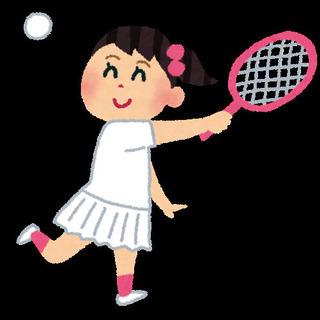 テニスやりましょうー!