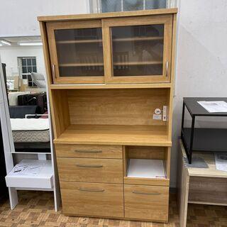 【ニトリ🌟美品】レンジボード キッチンボード 食器棚(幅100...