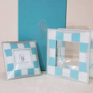 銀座ダイヤモンドシライシ ALIOS ガラス製花瓶 写真立…