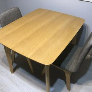 【ネット決済】【取引先調整中】ダイニングテーブルと椅子のセット