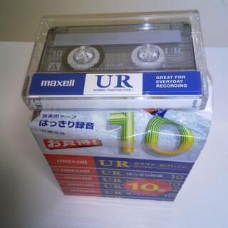 カセットテープ 新品 今年購入!