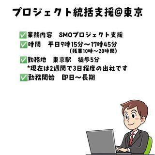 【即日可能】【長期勤務】SMOプロジェクト支援